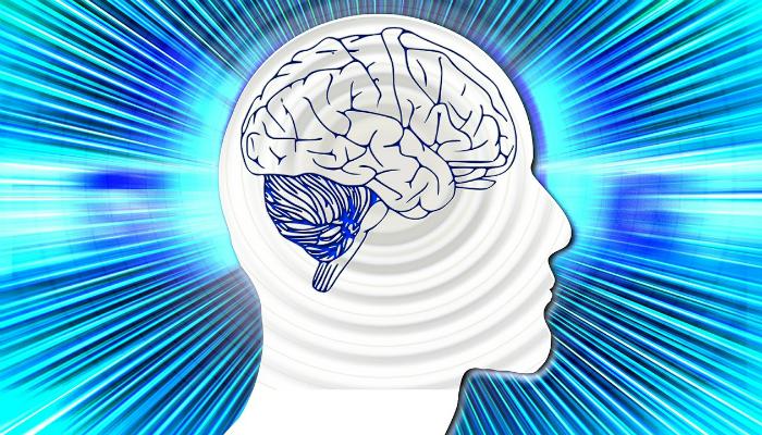 脳が活性化するイラスト